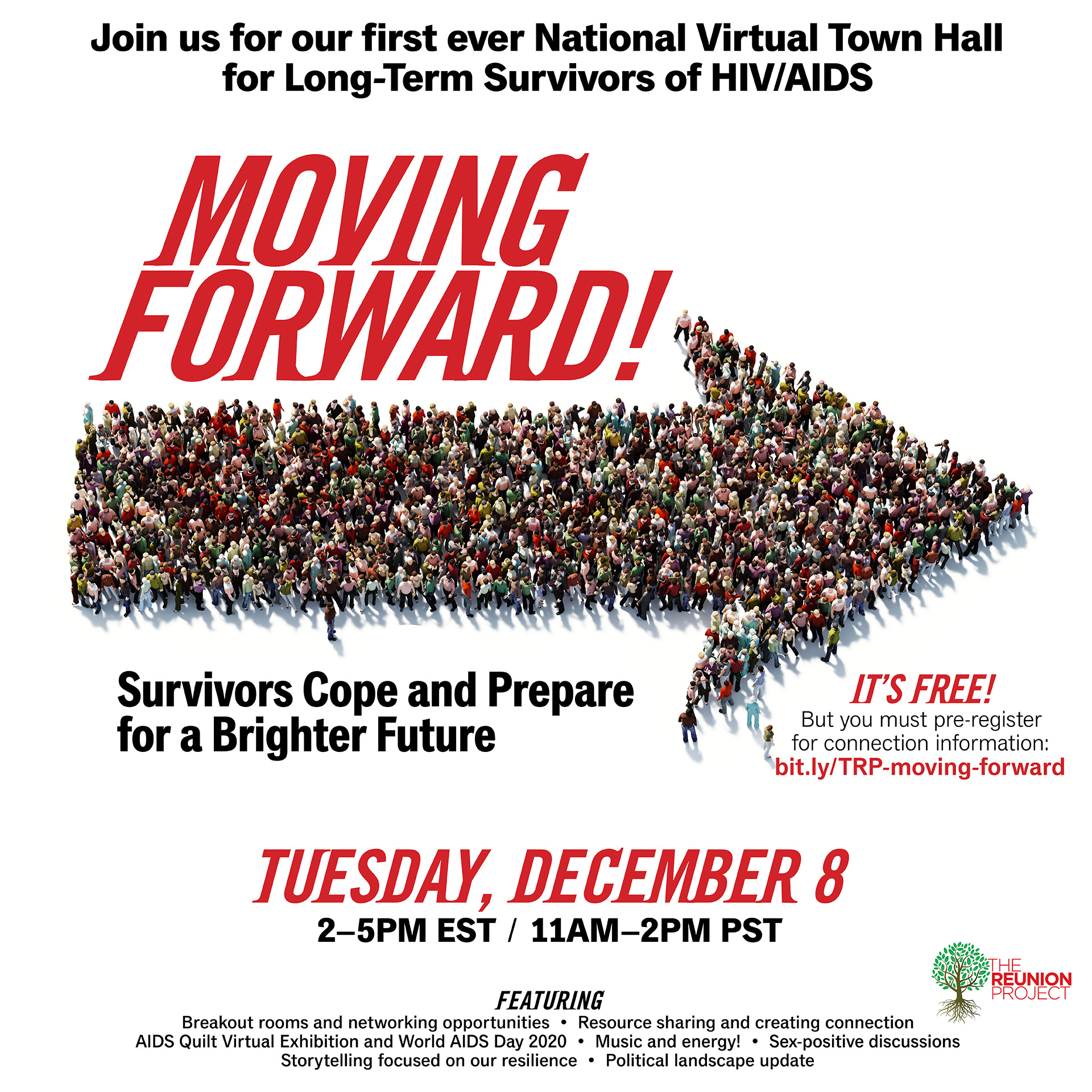 The Reunion Project National Virtual Town Hall-Moving Forward