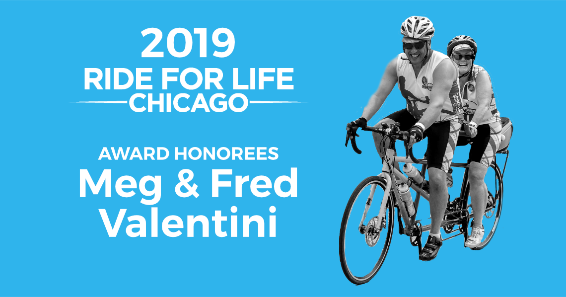 TPAN honors Meg & Fred Valentini with the 2019 Ride for Life Award