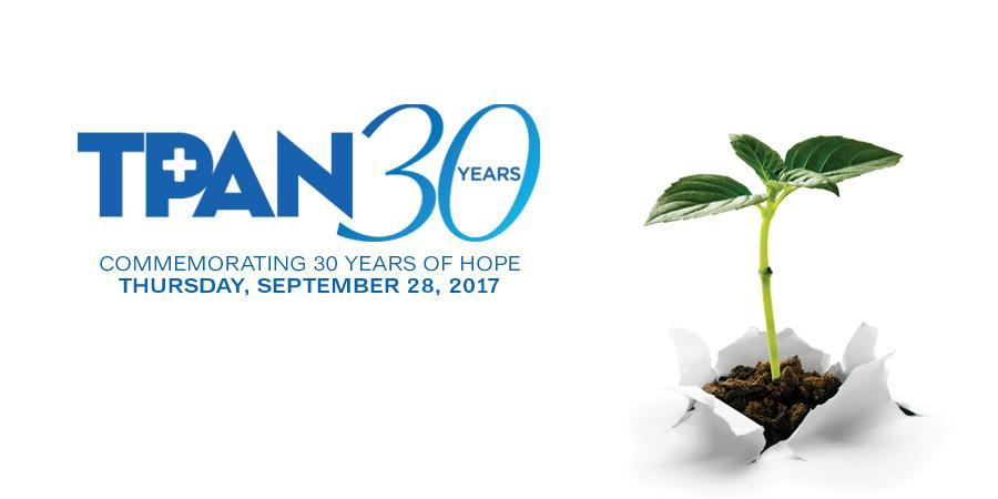 TPAN Commemorating 30 Years of Hope